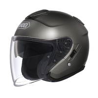 Shoei J-Cruise Open Face Solid Anthracite Helmet