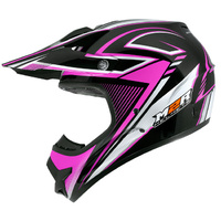 M2R Adults Purple Techno X2.6 Helmet