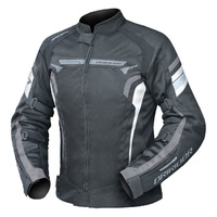 Dririder Ladies Air-Ride 4 Black/White/Grey Jacket