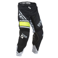 Fly Racing Kinetic Era Black/White Pants