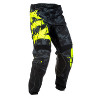 Fly Racing Kinetic Outlaw Black/Hi-Vis Pants