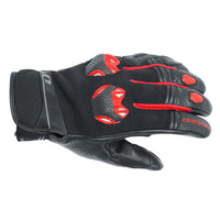 Dririder Fusion Black/Red Summer Gloves