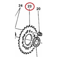 Ducati Rear Sprocket T39