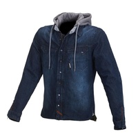 Macna Mens Westcoast Blue All Seasons Jacket