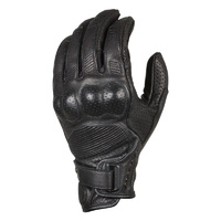 Macna Mens Bold Black Summer Gloves