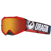 Dragon MXV Plus Factory Red Ion Lumalens Goggles []