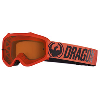 Dragon MXV Break Red Amber Lumalens Goggles []