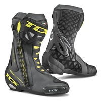 TCX Mens Black/Yellow RT-Race Boots