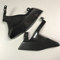 Ducati Carbon Exhaust Cover Kit