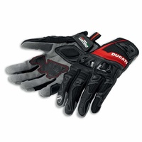 Ducati Summer 2 Men's Fabric-Leather Gloves