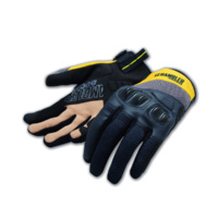 Scrambler Overland 2 Black/Yellow Gloves