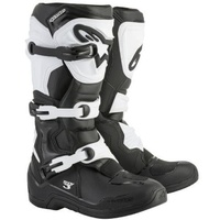 Alpinestars Mens Tech 3 Black White Boots