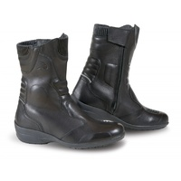 Falco Venus 3 Ladies Black Motorcycle Boots