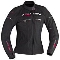 Ixon Ladies Pitrace Summer Black/Pink Jacket