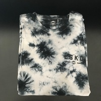 LKI RoadTrip Grey Tie Dye Mens 2X-Large T-Shirt