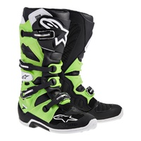 Alpinestars Tech 7 Green/Black Boots