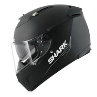 Shark Speed-R MXV Blank Black Small Helmet [Size:Small]