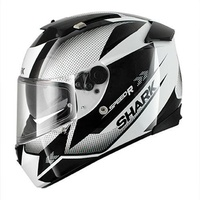 Shark Speed-R MXV Tanker White Black Large Helmet [Size:Large]