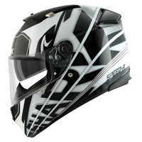 Shark Speed-R S2 Craig Black White Silver Helmet