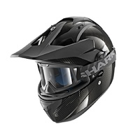 Shark Explore-R Black Carbon Skin Helmet